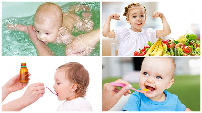 Как укрепить иммунитет ребенку после орви